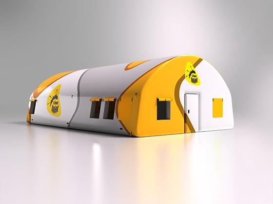надувная палатка на заказ