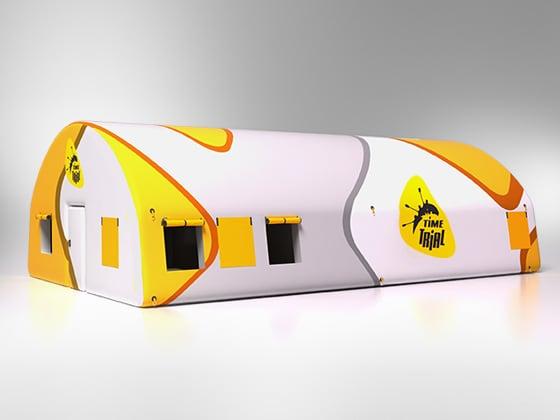Пневмокаркасный надувной модуль (палатка) для отдыха после спортивных соревнований