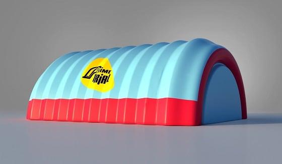 Надувной ангар для спортивных сооружений