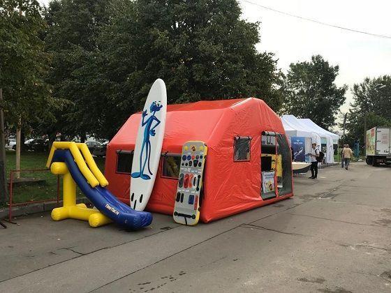 Аренда рекламной палатки