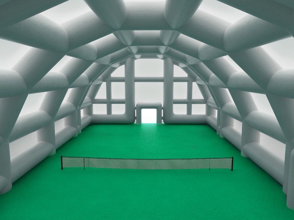 Надувной теннисный корт Дэвис