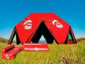 Пневмокаркасная промо-палатка шатер Big Event