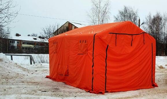 Надувная облегченная палатка ЛАЙТ
