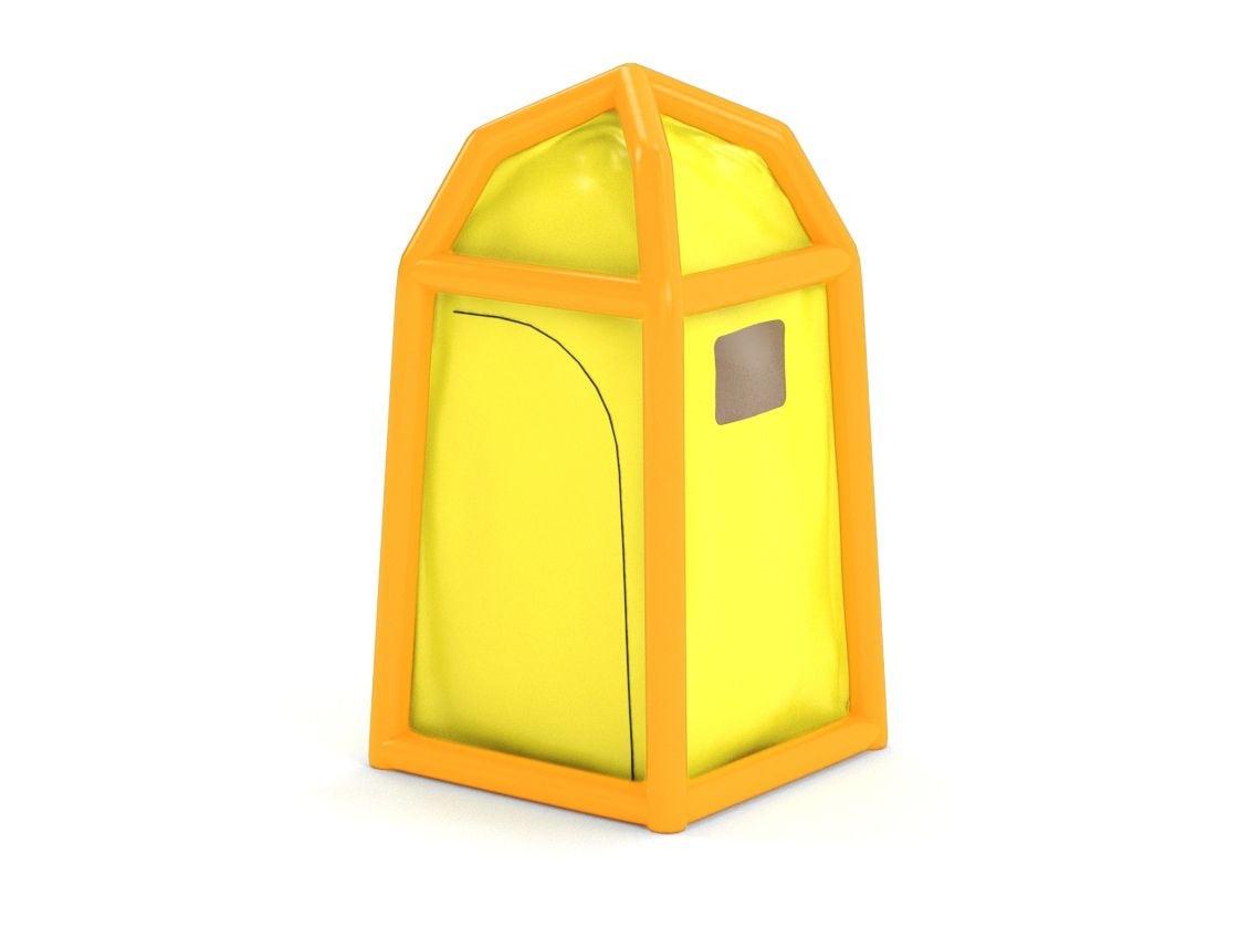 Надувная кабинка для биотуалета