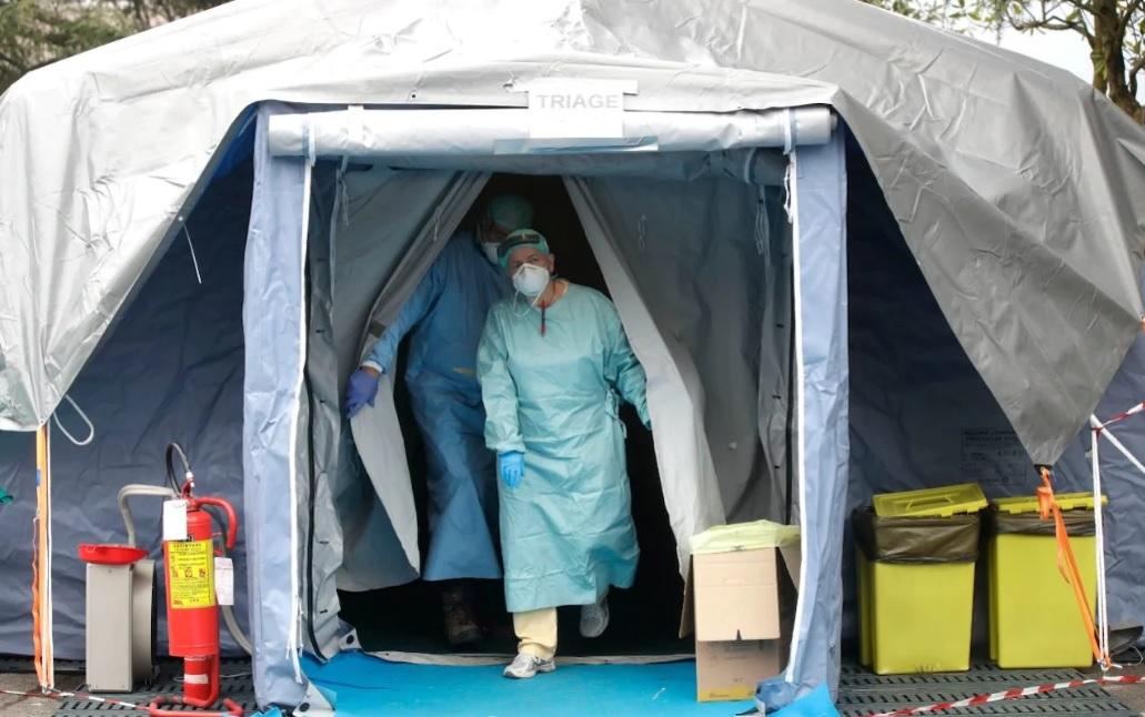 Надувная палатка ПКП ТТ-19 для карантина и лечения коронавируса COVID-19