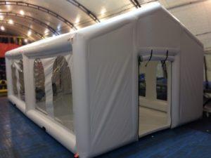 Надувная палатка для ресторана и кафе «Летний банкетный зал»