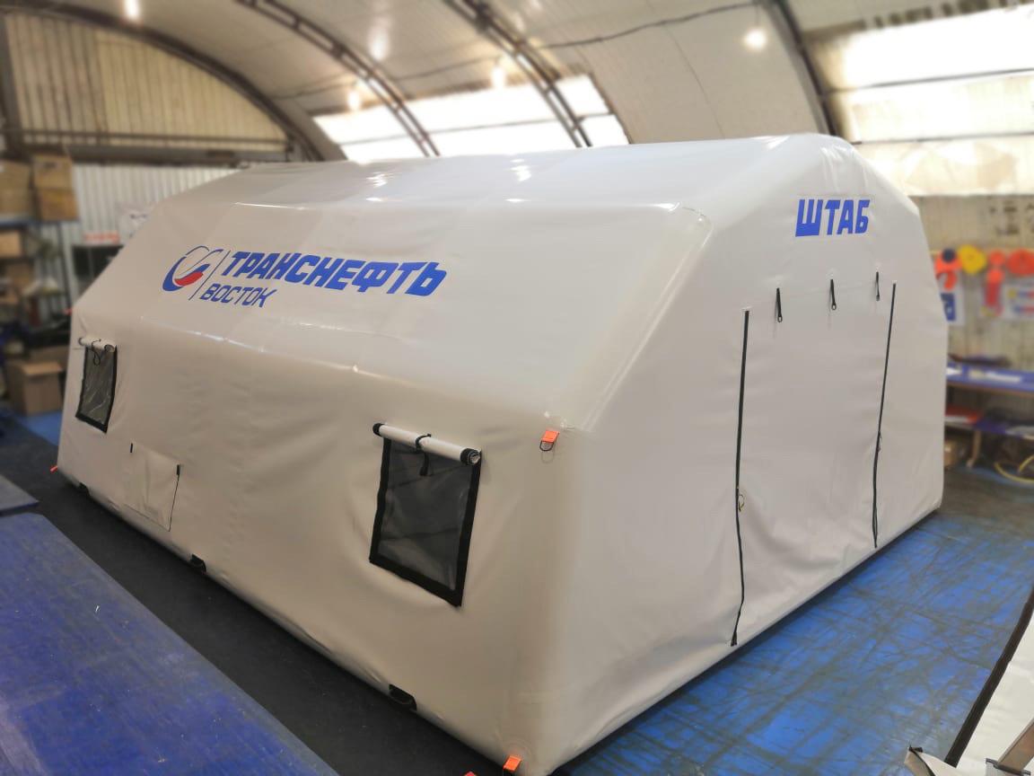 Пневмокаркасный модуль для Штаба ООО «Транснефть-Восток»