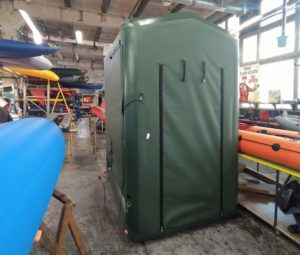 Модуль пневмокаркасный (душевая кабина на базе пневмокаркасного модуля)